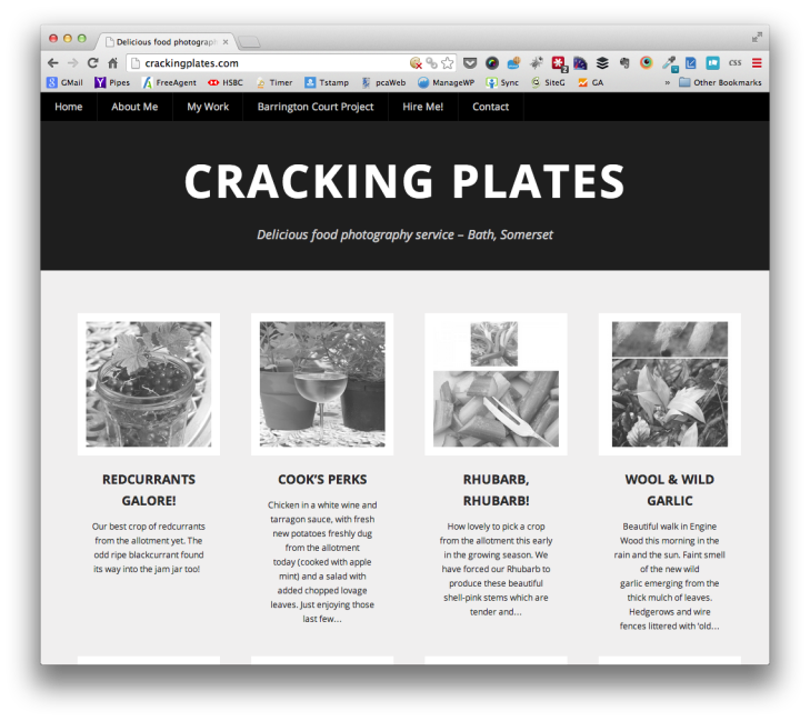 Cracking Plates - Delicious food photography
