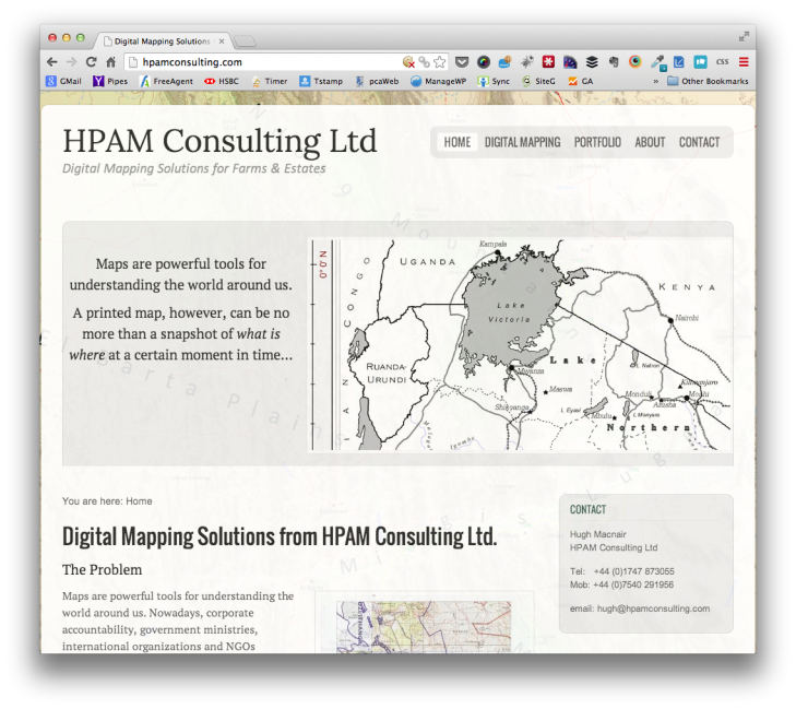 HPAM Consulting - Digital Mapping