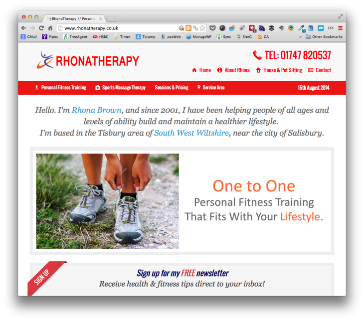 RhonaTherapy - Personal Fitness Trainer